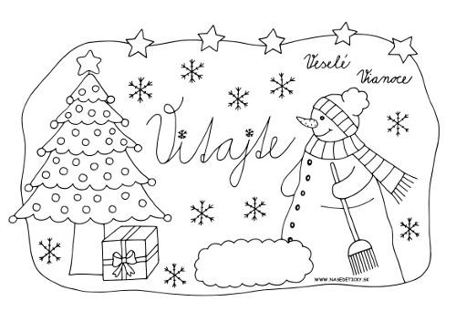 vianoce_dvere_snehuliak