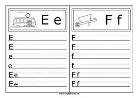 Píšeme tlačené písmenká