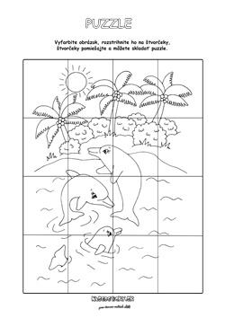 Delfíny puzzle