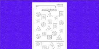 Geometrické tvary a motýliky.