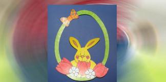 Jarná ozdoba na vyfarbenie pre deti