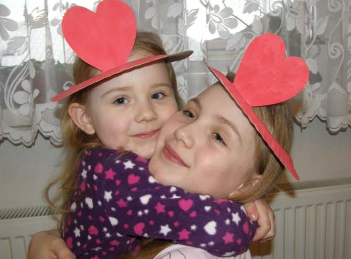 Valentínsky klobúčik
