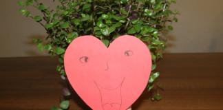 Valentín - srdiečkový panáčik