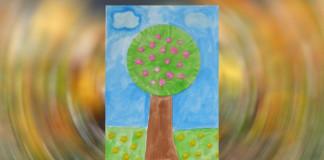 Rozkvitnutý strom - jarné aktivity pre deti