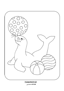 Puzzle tuleň