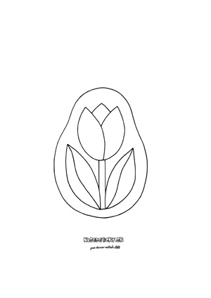 Tulipán na okno