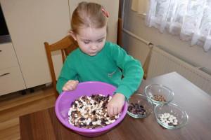 Triedime fazuľu - aktivita pre deti