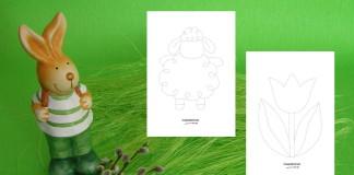 Obťahujeme jarné obrázky - jarné aktivity pre deti