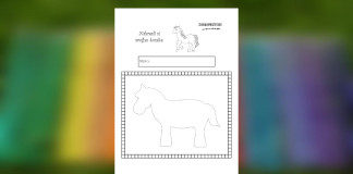 Kreslíme koníka