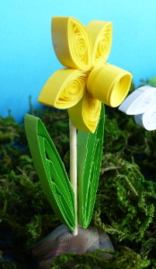 Narcis - quilling