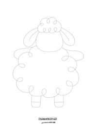 Ovečka - jarné aktivity pre deti