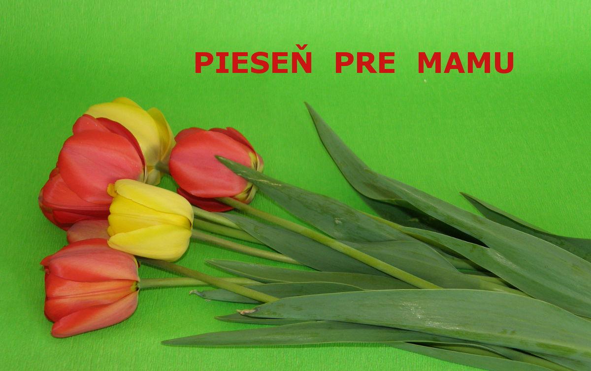 f503d9d0a Pieseň pre mamu na Deň matiek - Aktivity pre deti, pracovné listy ...