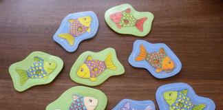 Chytáme rybičky na udicu - hra pre deti