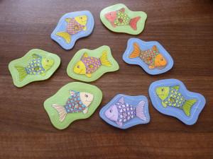 Rybičky pre deti - magnetické