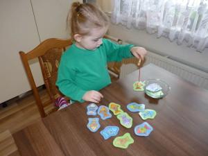 Rybičky - chytanie na udicu pre deti