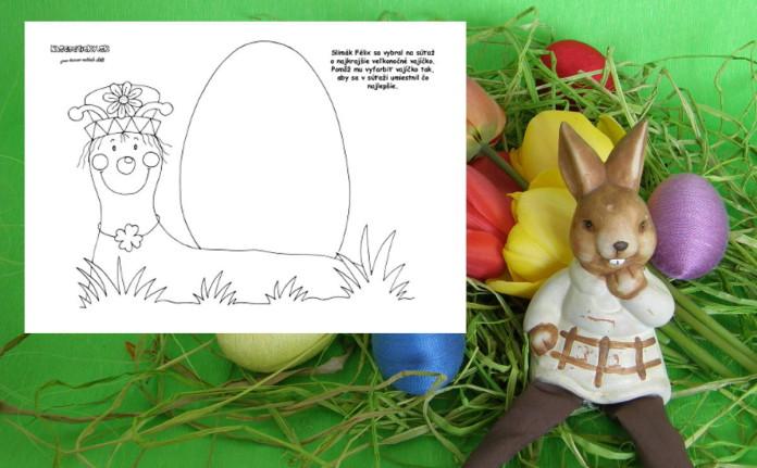 Kreslíme veľkonočné vajíčko