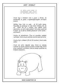 Hroch - encyklopédia zvierat