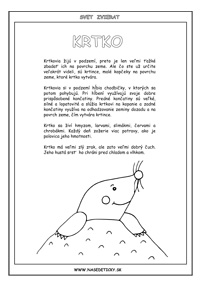 Krtko - encyklopédia zvierat