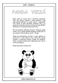 Panda - encyklopédia zvierat