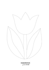 Tulipán - jarné aktivity pre deti