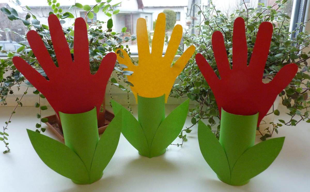 Tulipány - jarné aktivity pre deti