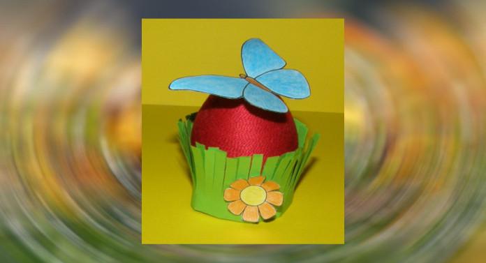 Veľká noc - vajíčko s motýlikom