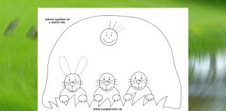 Grafomotorika - kreslíme zajkovi uši