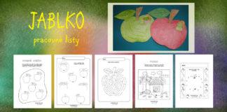 Jablko - aktivity a pracovné listy pre deti