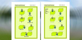 Prepositions - anglické predložky