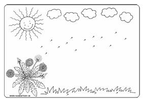 Púpava - pracovný list pre deti