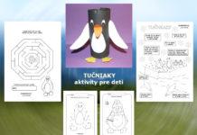 Tučniak - aktivity a pracovné listy pre deti