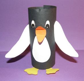 Tučniak - aktivity pre deti