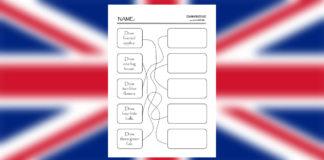 Pracovný list z angličtiny