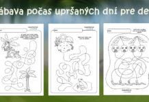 Hľadáme cestičky - pracovné listy pre deti