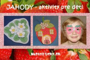 Jahody - aktivity pre deti