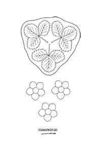 Rozkvitnuté jahody - aktivity pre deti