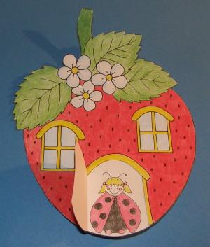 Jahodový domček - aktivity pre deti