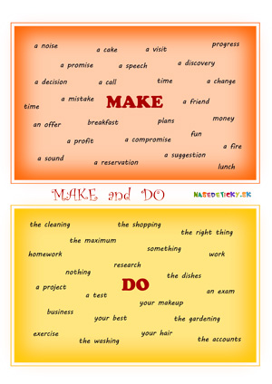 Make and do - worksheet