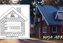 Domček - adresa - pre deti