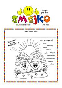 Časopis SMEJKO pre deti zadarmo