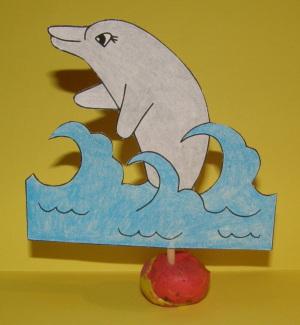 Delfín - aktivity pre deti