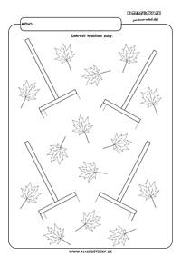 Hrable - grafomotorika - pracovné listy pre deti