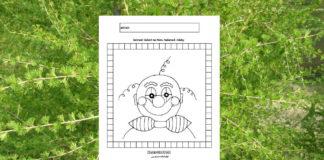 Šašo - pracovný list pre deti