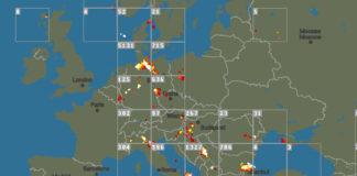 Búrka - sledovanie bleskov