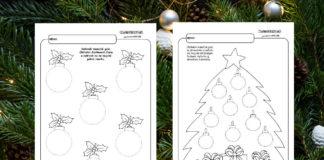 Vianoce - pracovné listy pre deti