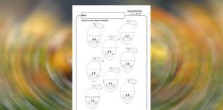 Žalude - grafomotorika