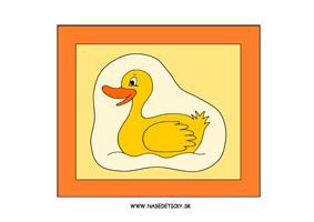 Kačička - obraz pre deti