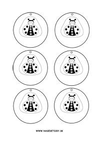 Lienka - medaila alebo menovka na zavesenie na krk