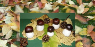Hríbiky - jesenné aktivity pre deti