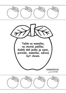 Básnička o jabĺčku